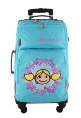 Surfer Girl Bags 4WH SB Active Traveller Cabin Trolley - Biru