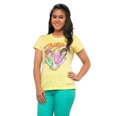 Surfer Girl BFF Top - Kuning