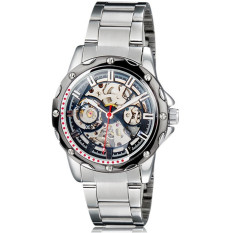 Svoovs SH 9536 Man Round Dial Analog Automatic Mechanical Watches And Stainless Steel Watch Strap ECS002301