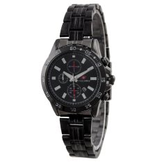 Swiss Army Women Fashion Jam Tangan Wanita - Stainless - Hitam - SA 1143 FB
