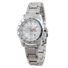 Swiss Army Women Fashion Jam Tangan Wanita - Stainless - Silver - SA 1145 SS SIL