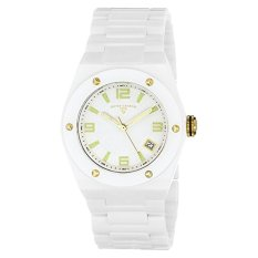 Swiss Legend Women's 10054-WWTGA Throttle Analog Display Swiss Quartz White Watch (Intl)