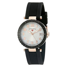 Swiss Legend Women's 16002SM-RG-02-BB Sea Breeze Analog Display Swiss Quartz Black Watch (Intl)