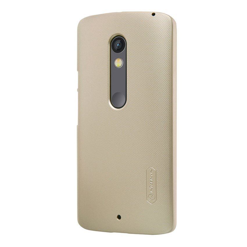 Sworld MOTO X Play Super Frosted Shield (Gold) (Intl)