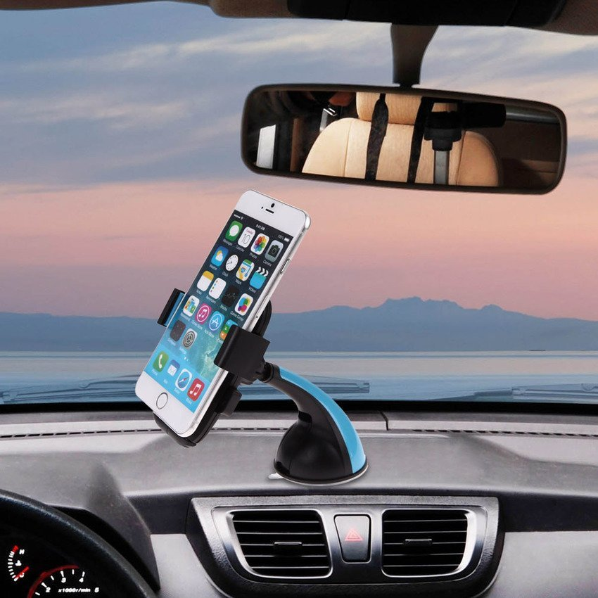 Sworld VCS-0039 Big Bend Phone Holder Clip (Blue) (Intl)