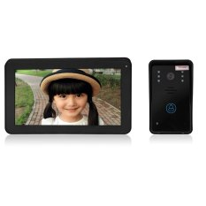 SY906A11 Wireless 9 Inch TFT Color LCD Screen Night Vision Video Door Phone Intercom Doorbell