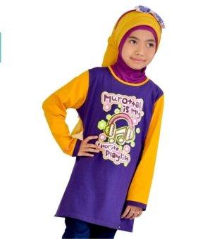 Syamsakids Baju Muslim Anak Sl040 Multicolor Lazada
