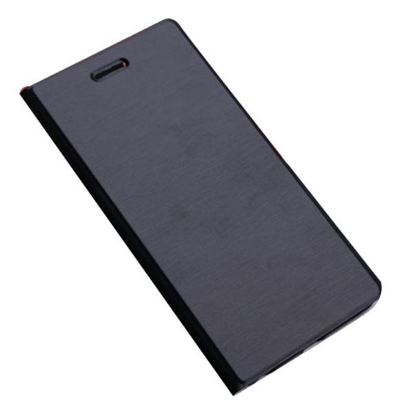 Synthetic Leather Cover for Apple iPhone 6 (Black) (Intl)