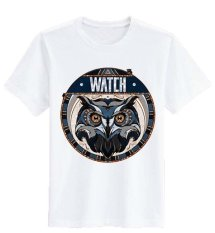 Sz Graphics Watch T Shirt Wanita Kaos Wanita-Putih