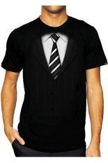 T-Shirt Glory Kaos 3D Jas 2 - Hitam