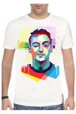 T-Shirt Glory Kaos 3D Mesut Ozil - Putih
