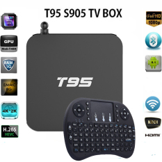 T95M Smart TV Box Streaming Media Player With I8 Keyboard EU Plug - Intl