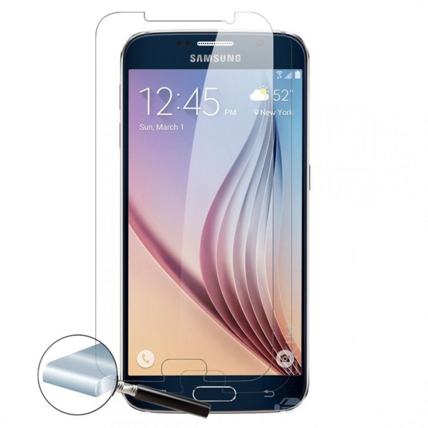 Taff Perfect Tempered Glass Protection Screen 0.26mm for Samsung Galaxy S6 Edge Plus (Asahi Japan Material Glass)