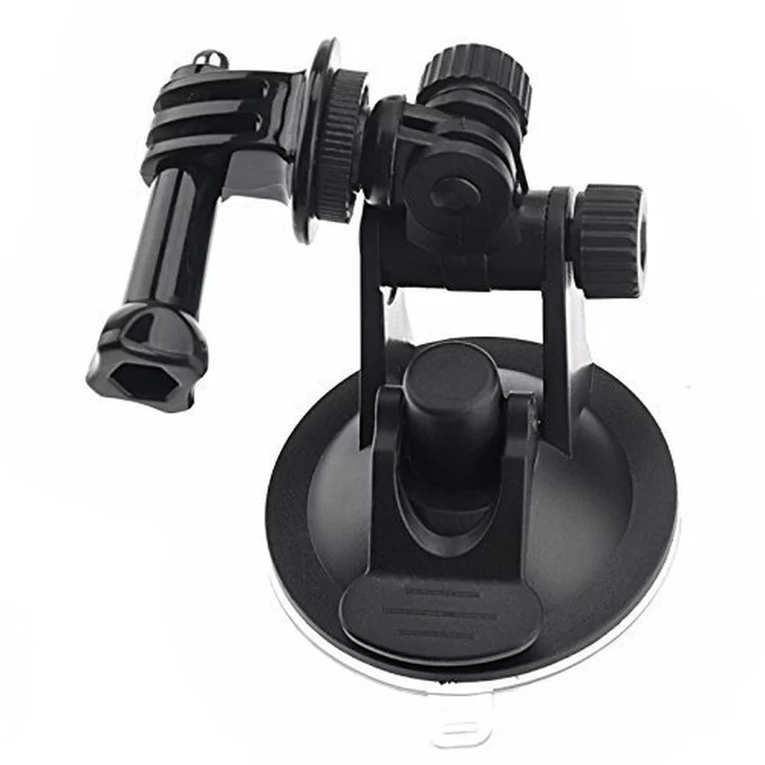 TECHO Car Windshield Suction Cup Holder and Tripod Mount and Handle Screw (Black) (Intl)