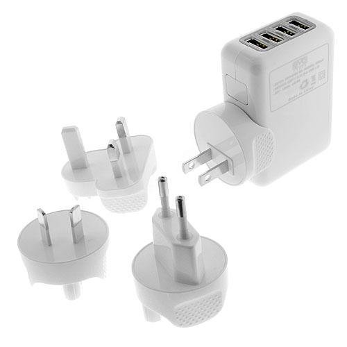 Teiton - 4 Ports USB Universal Charger Travel Charger