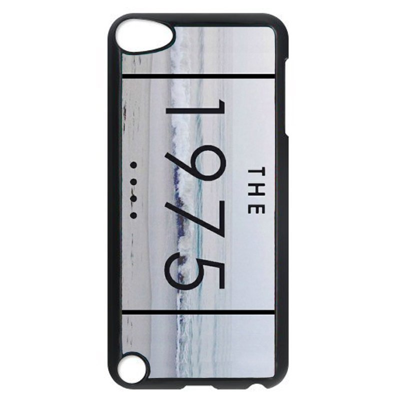 The 1975 Letter Print Phone Case for iPod Touch 4 (Black)