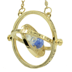 The Time Turner Hourglass Necklace Harry Potter Blue - Intl