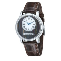 Thomas Earnshaw LAPIDARY MEN Brown Genuine Leather Strap Watch - ES-0027-03 (Intl)