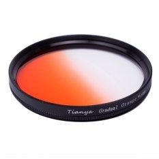 Tianya 40.5mm Orange Graduated Colour Filter (Black)