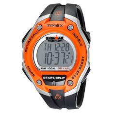 "Timex Men's T5K529 ""Ironman Traditional"" Black And Orange 30-Lap Sport Watch - Intl"