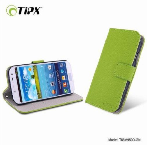 Tipx Sointe Leathercase for Samsung Galaxy S4 - Green