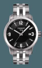 TISSOT PRC 200 Quartz Gent Jam Tangan Pria T0554101105700 - Stainless Steel - Silver