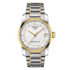 Tissot T-Classic Titanium Automatic Lady T087.207.55.117.00 - Jam Tangan Wanita - Silver