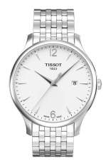 TISSOT Tradition Gent Jam Tangan Pria T0636101103700 - Stainless Steel - Silver