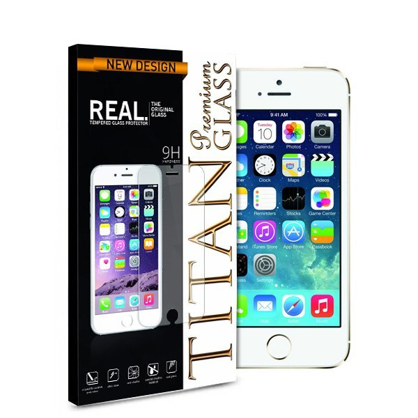 Titan Glass for Ipod Touch 5 - Premium Tempered Glass - Rounded Edge 2.5D