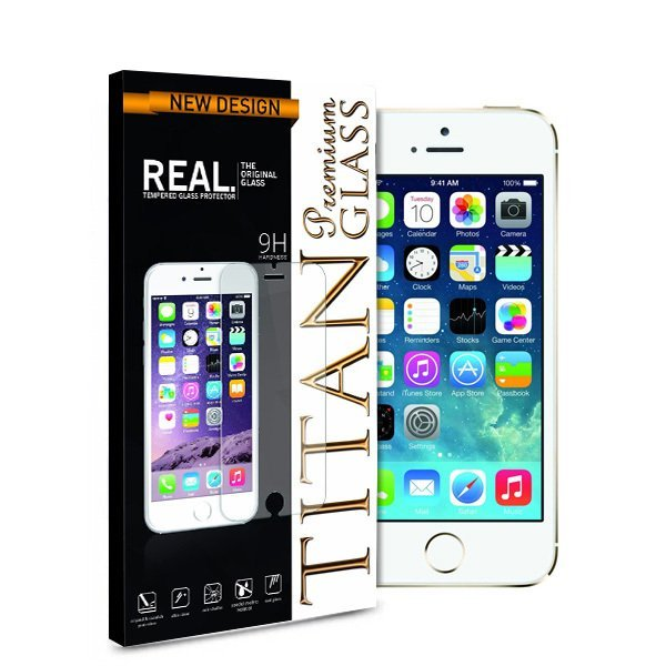 Titan Glass for Samsung Galaxy S5 - Premium Tempered Glass - Rounded Edge 2.5D