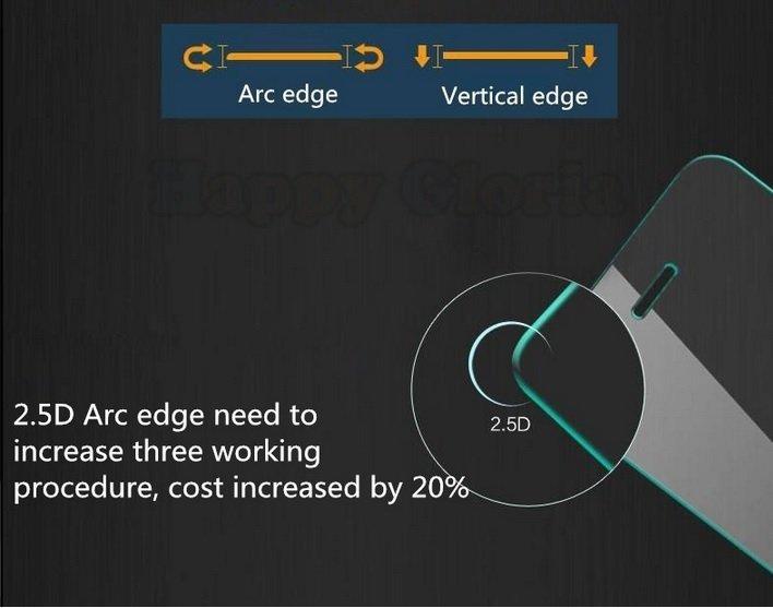 Titan Glass untuk Lenovo K910 - Premium Tempered Glass - Rounded Edge 2.5D