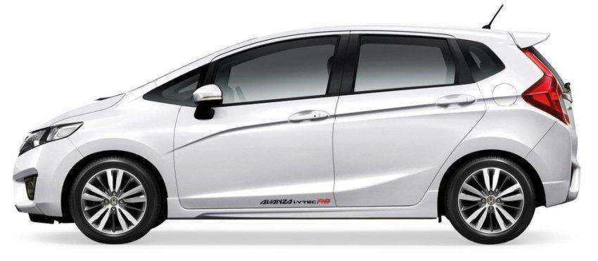 Tokomonster Sticker Avanza i-vtec RS Sticker RS Samping Mobil