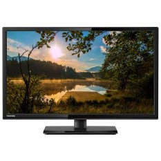 "Toshiba 24"" LED USB HDMI VGA TV Hitam - Model 24S2500"