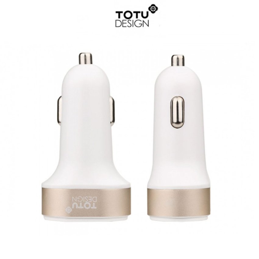 Totu Car Charger - Putih