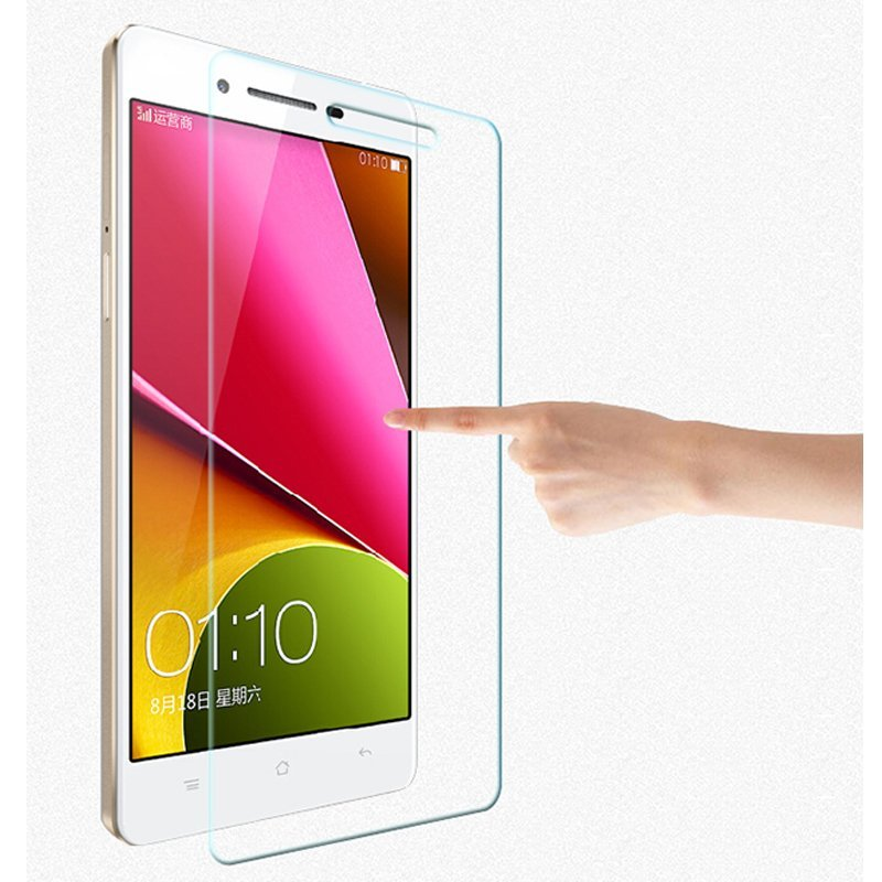 Toughened Glass Protective Film for OPPO R829T R8007 R8000 R1S?2pcs? (Intl)