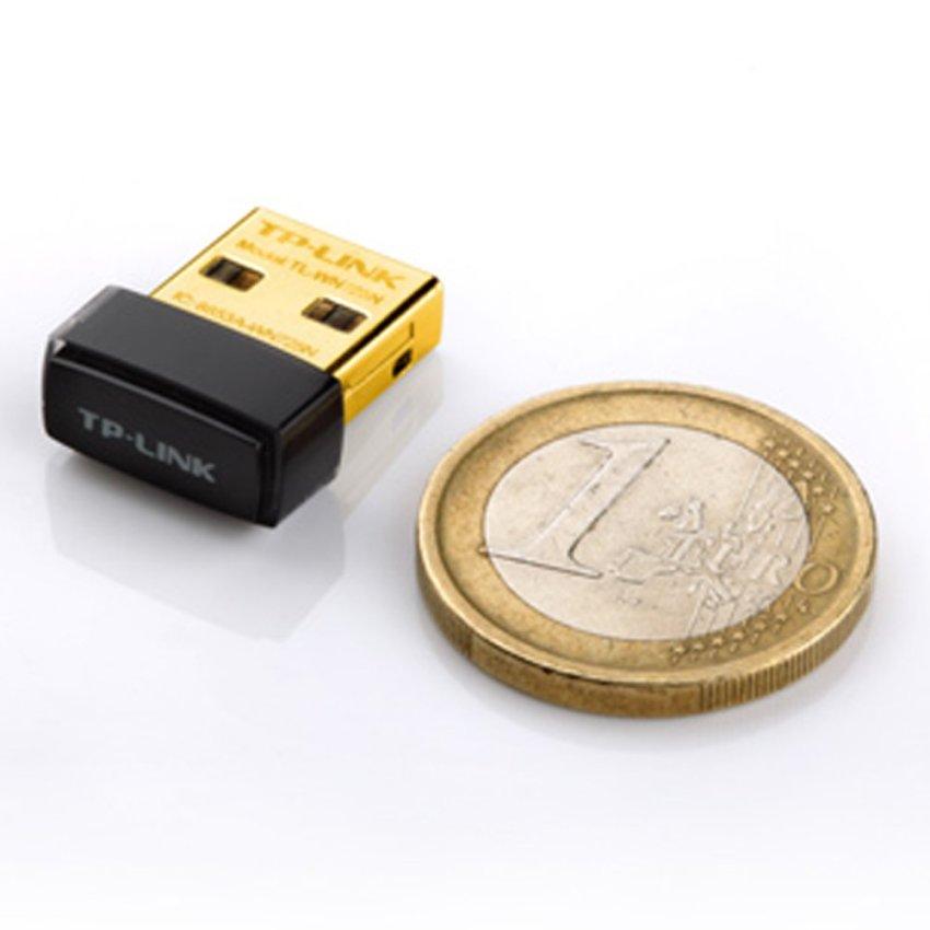 TP-LINK Nano USB Wireless Adapter 150 Mbps TL-WN725N - Hitam