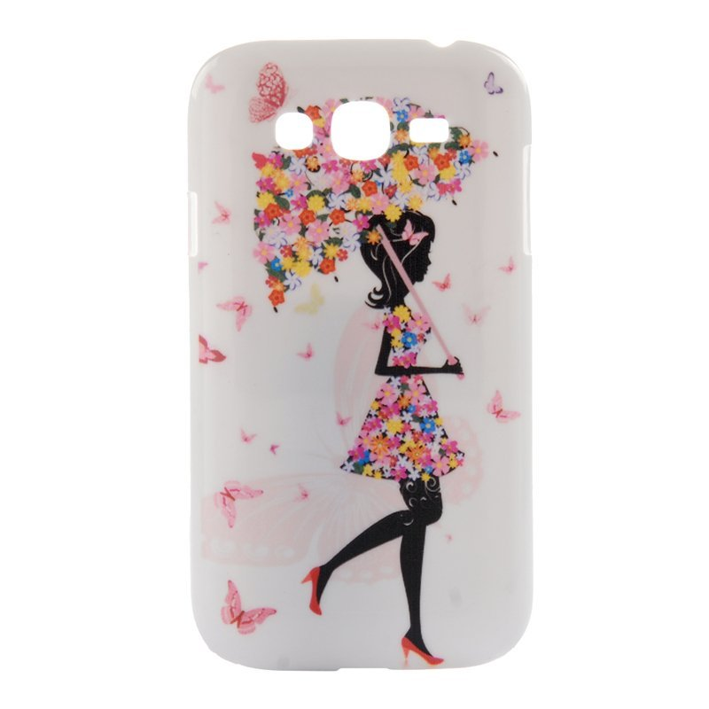 TPU Back Case for Samsung Galaxy Grand I9080 I9082 (White) (Intl)