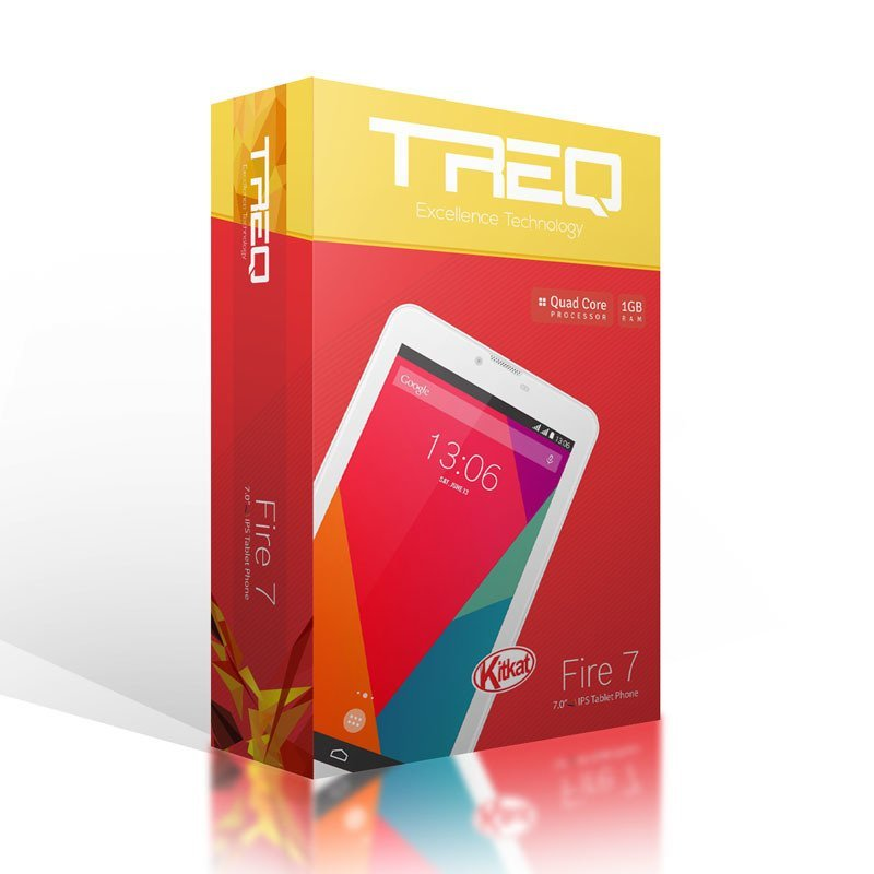 Treq Fire 7 - 8GB - Hitam