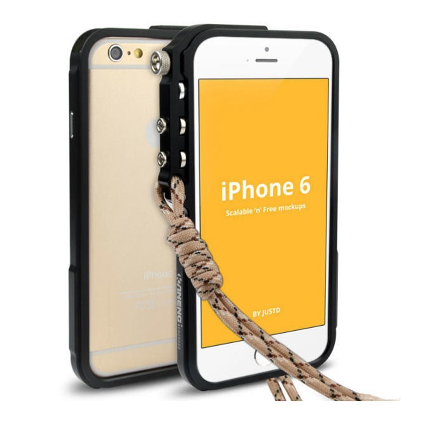"Trigger Bumper for Iphone 6 6S 4,7"" Premium Case - Hitam"
