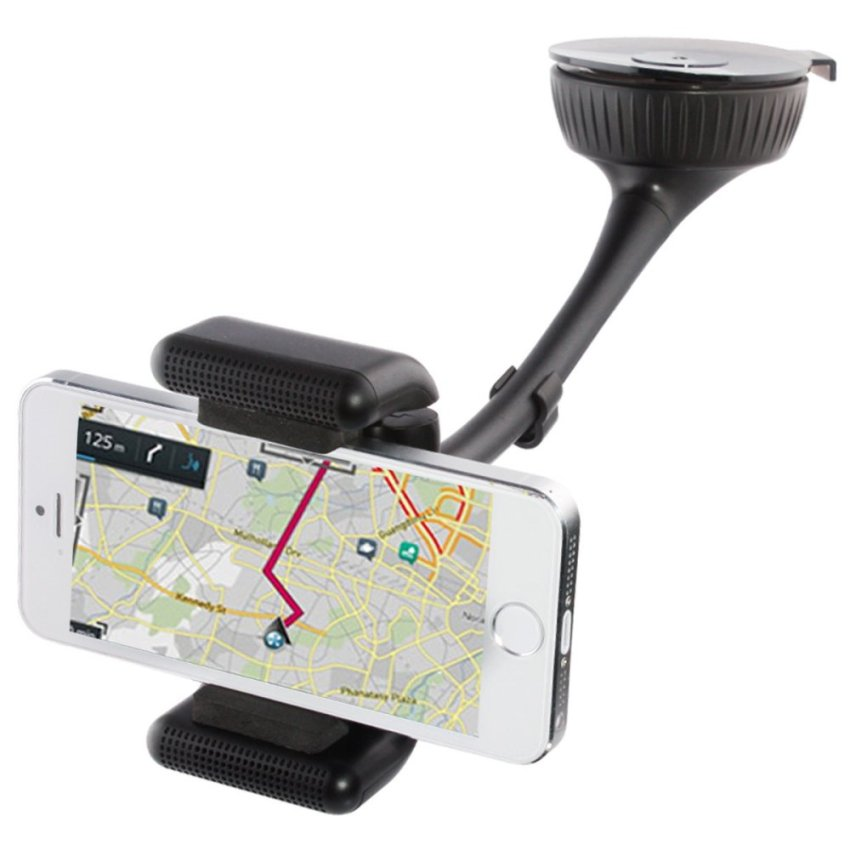 TS-BT8112 Cell Phone Holder GPS Navigation Mobile Phone Holder(Black) (Intl)