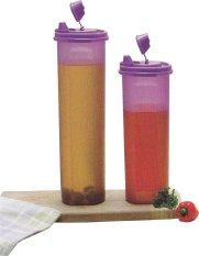 Tupperware Compact Cooking Oil Set 2 Pcs - Ungu