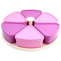 Tupperware Modular Carousel Set - Ungu Pink