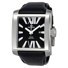 TW Steel Men's CE3005 CEO Goliath Black Dial Watch - Intl