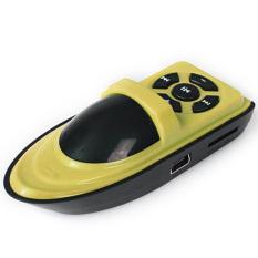 Twin Mp3 Mini Player Ship Style- Yellow