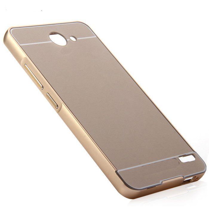 Twins Aluminium Bumper With Sliding Case For Infinix Note 2 X600 - Emas