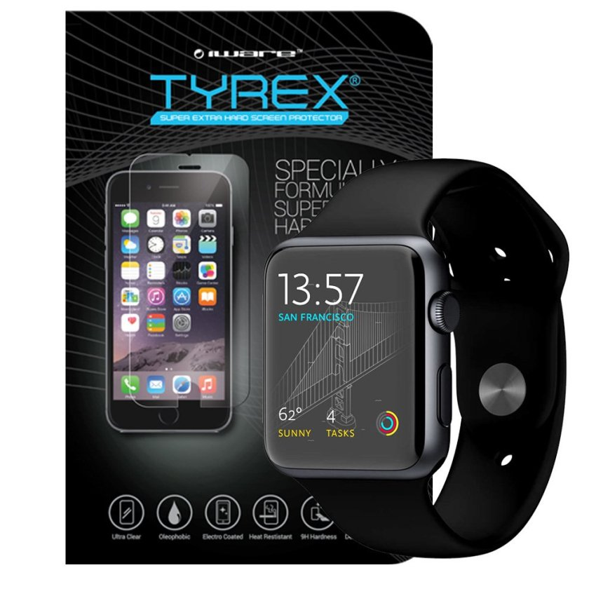Tyrex Tempered Glass for Apple Watch 42MM - Gratis Pengiriman Jawa & Bali