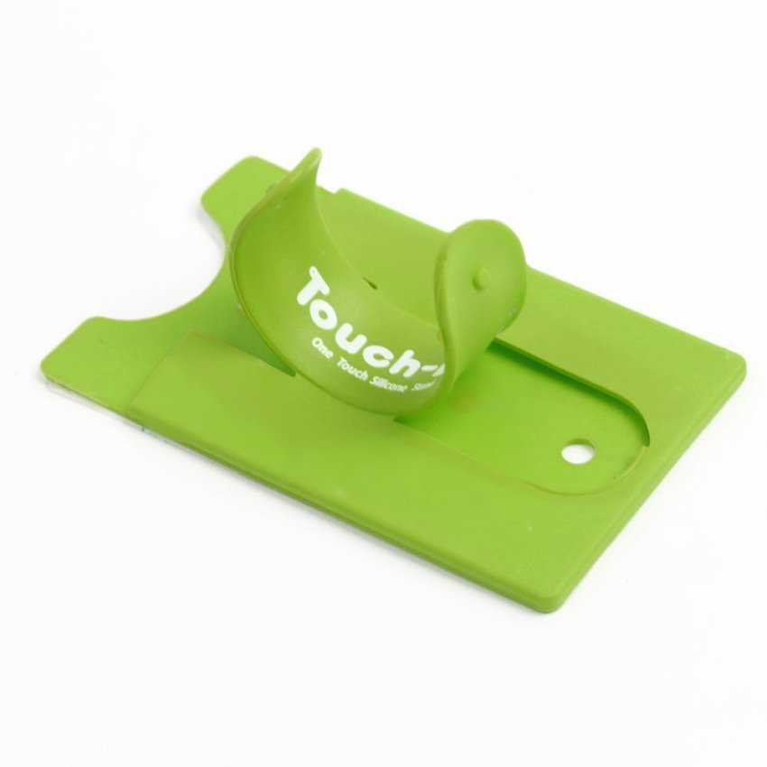 U-Shaped Phone Card Backing - Green (Intl)