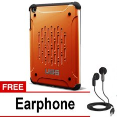 UAG Case for Ipad MIni 1 Urban Armor Gear - Orange + Gratis Earphone