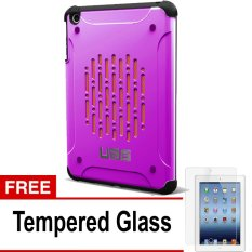 UAG Case for Ipad MIni 1 Urban Armor Gear - Pink + Gratis Tempered Glass