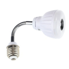 UJS AC 110.220V E2.5W LED PIR Infrared Sensor Motion Detector Light Bulb White